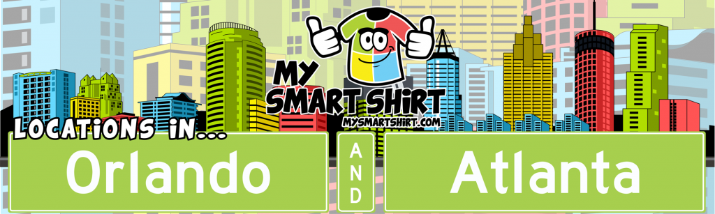 What about My Smart Shirt? We have locations in Orlando and Atlanta